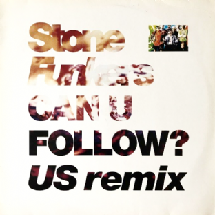 "Stonefunkers - Can U Follow? (US Remix) (12"") (VG-/VG-)"